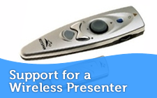 Support for Wireless Presenters