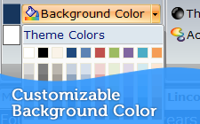 Customizable Background Color
